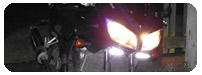 High powered running lights for your motorcycle (DRL)