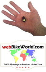 BikeVis Bullets Running Lights - webBikeWorld Motorcycle Accessory of the Year 2009