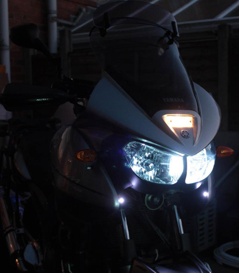 Led Lights For Motorcycle >> Yamaha TDM900