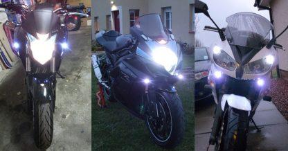 BikeVis Bullets v2 - Motorcycle LED Running Lights
