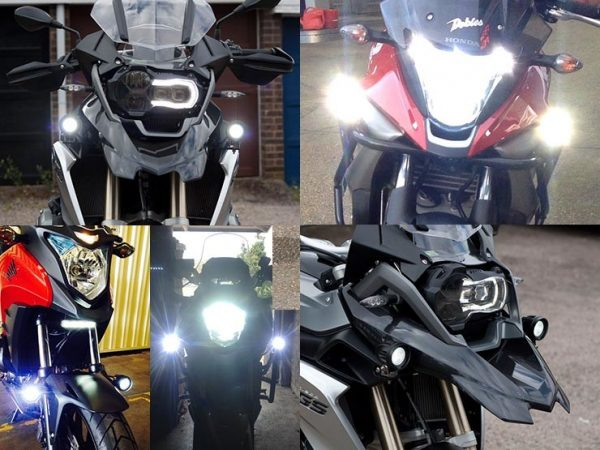 BikeVis Motorcycle Cree Aux Lights