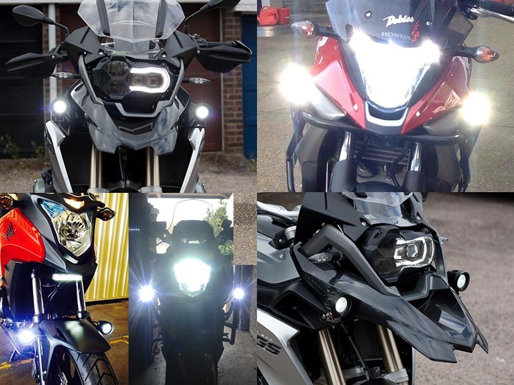 Bikevis Cree Led Aux Lights Bikevis