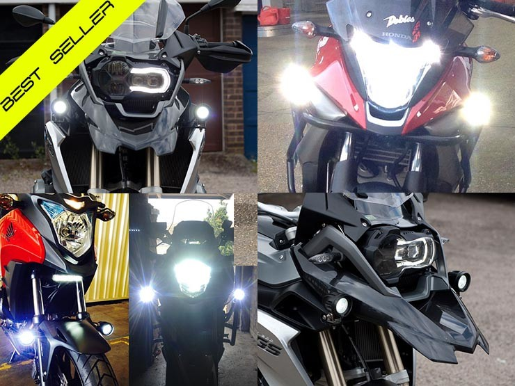 BikeVis Cree v3 Motorcycle Daytime Running Lights