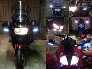 BikeVis Motorcycle Mini Pod Running Lights