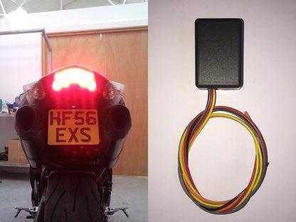 BikeVis Motorcycle LED Brake Light Modulator