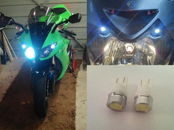 BikeVis Motorcycle T10 501 Wedge Sidelight Upgrade Bulbs