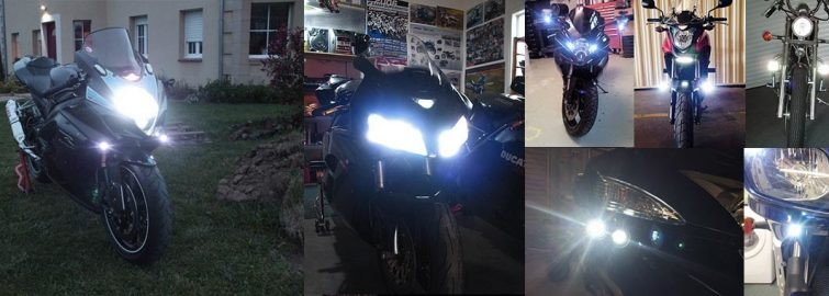 Motorcycle Daytime Running Lights