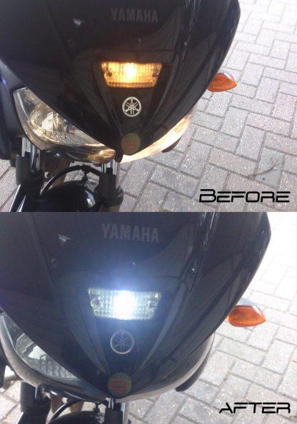 BikeVis Motorcycle T10 501 Wedge Sidelight Upgrade
