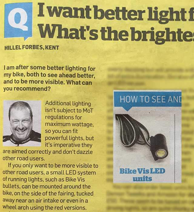 MCN Motorcycle News BikeVis Bullet Review