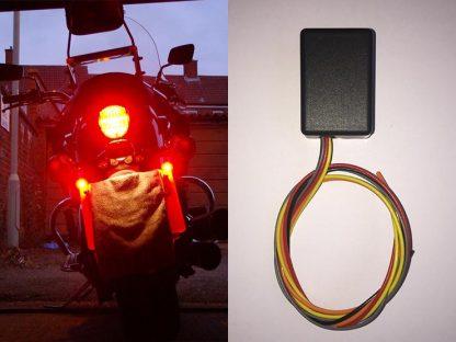 SMiDSY Motorcycle Brake Light Flasher