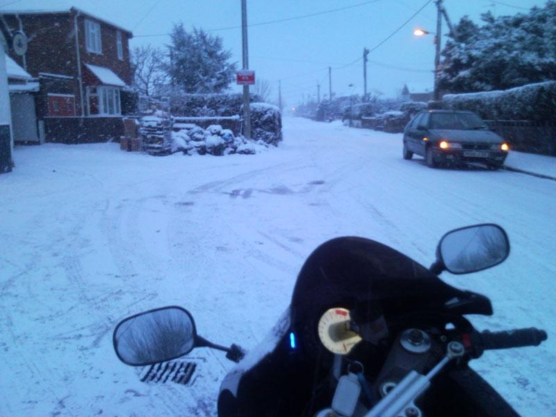 riding to work snow 3 1