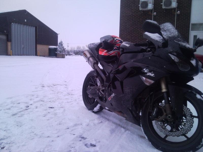 riding to work snow 6 1