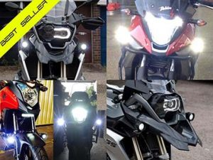 bikevis cree v3 motorcycle running lights